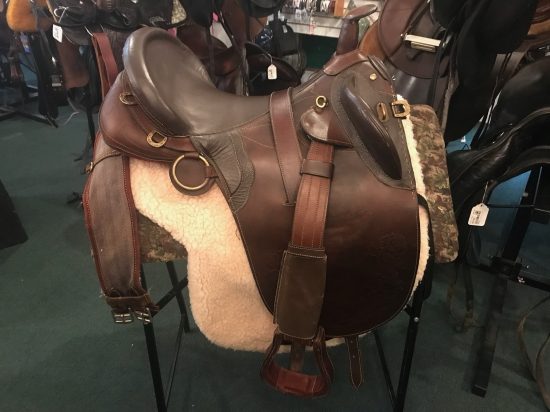 17 INCH AUSSIE OUTBACK SADDLE $300